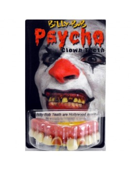 Psycho Evil Clown Teeth