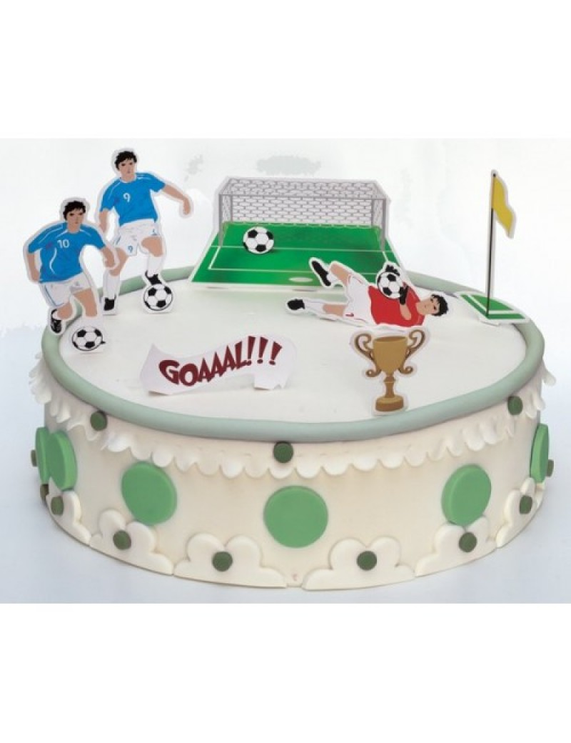 Football Stand Up Cake Decorations