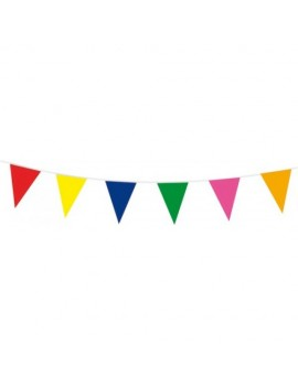 Multi Coloured Flag Pennant Bunting FO-07267
