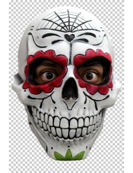 Mexican Day Of The Dead Catrin Mask Ghoulish Productions GH-22045
