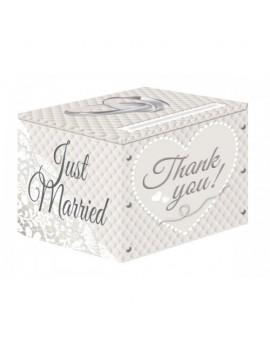 Wedding Thank You Gift Box Folat FO-21382