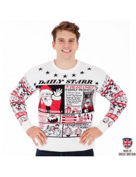 Daily Starr British Christmas Jumper