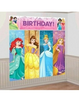 Disney Princess Scene Setter Wall Decorating Kit