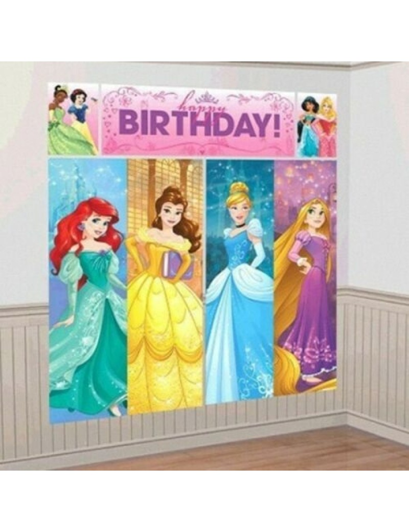 Disney Princess Scene Setter Wall Decorating Kit