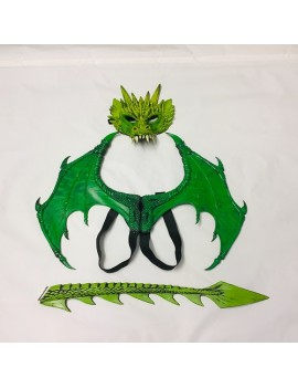 Dragon Costume Accessory Set Green