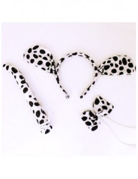 Animal Ears And Tail Set Dalmatian Dog 16303