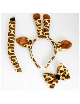 Animal Ears And Tail Set Giraffe 15123