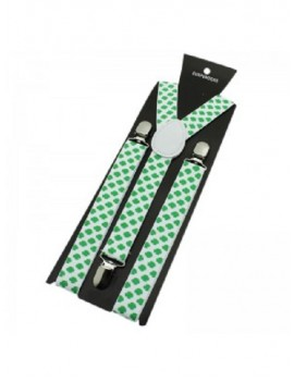 Irish Braces Shamrock Clip on 72497