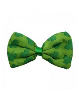 Irish St Patricks Day Shamrock Bow Tie 81708