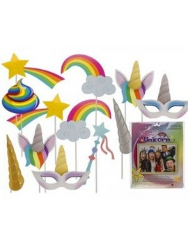 Photo Booth Unicorn Party Props E Apollo 75655