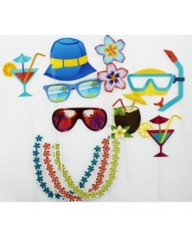 Photo booth beach party props Roxan 70948
