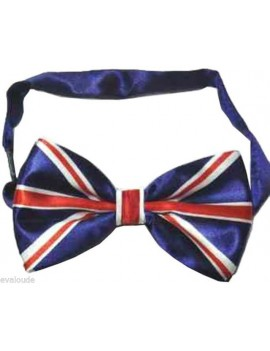 Union Jack Flag Bow Tie