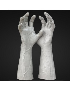 Frankenstein Latex Hands
