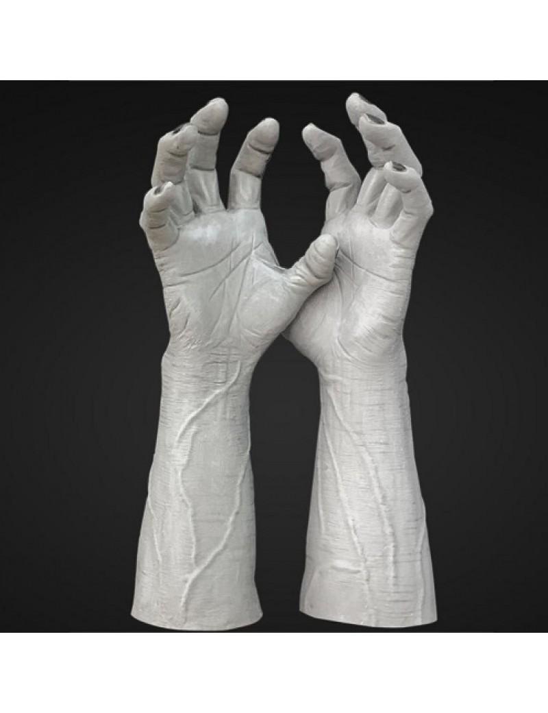 Frankenstein Latex Hands