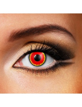 Red Vampire Eye Accessories 90 Days