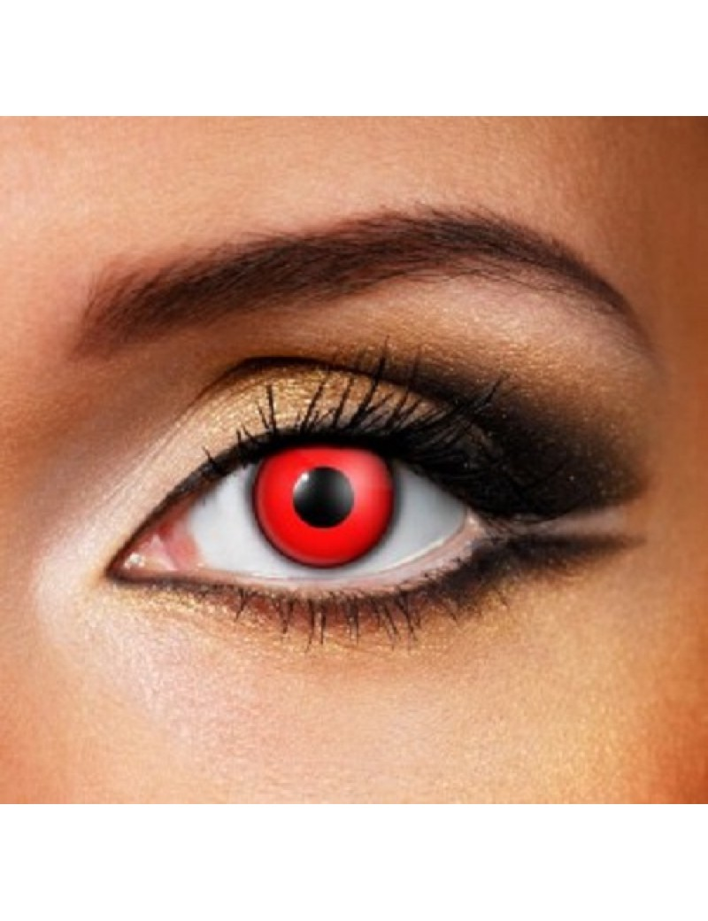 Bloody Red 1 Day Coloured Contact Lenses