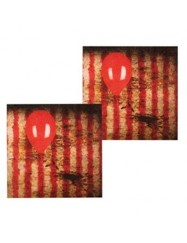 Horror Clown Paper Napkins