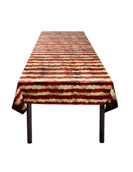 Horror Clown Plastic Tablecloth
