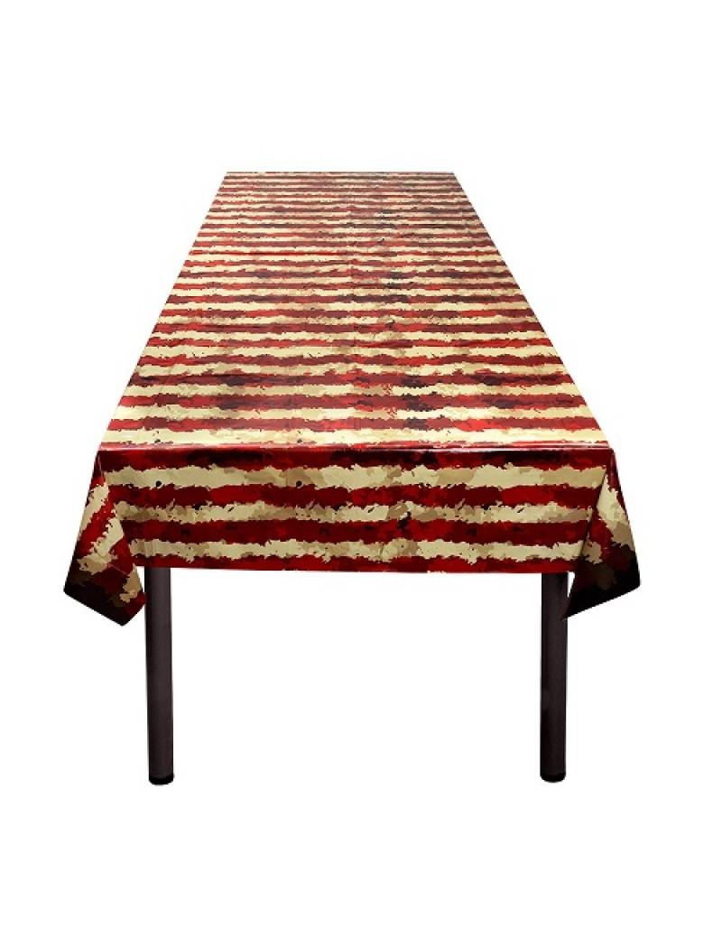 Horror Clown Plastic Tablecloth