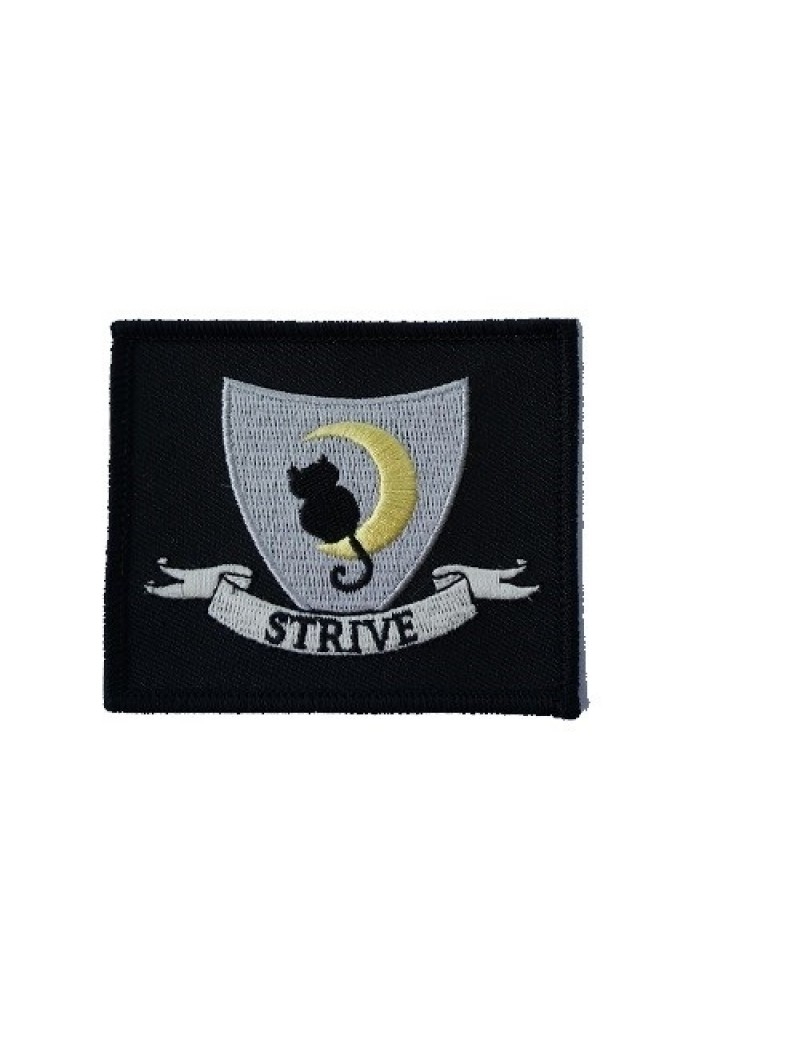Cackle's Academy Strive Costume Patch Grey