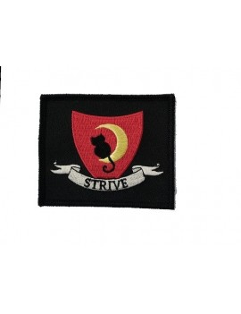 Mildred Hubble Strive Costume Patch Red