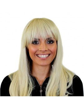 Heat And Style Wig Blonde