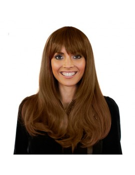 Heat And Style Wig Brown