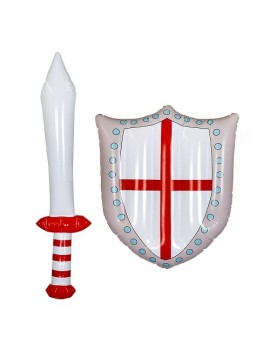 Inflatable English Sword And Shield
