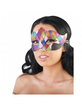 Eyemask Harlequin Glitter Multicoloured PM027