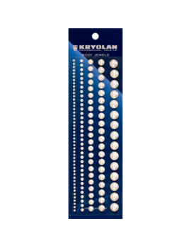 Kryolan Body Jewels Pearls