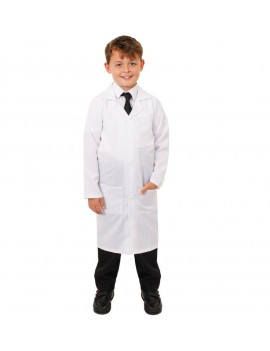Lab Coat White Kids