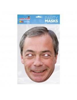 Nigel Farage Celebrity Face Mask
