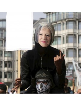 Theresa May Celebrity Face Mask