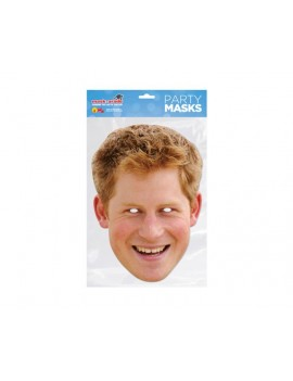 Prince Harry Young Celebrity Face Mask