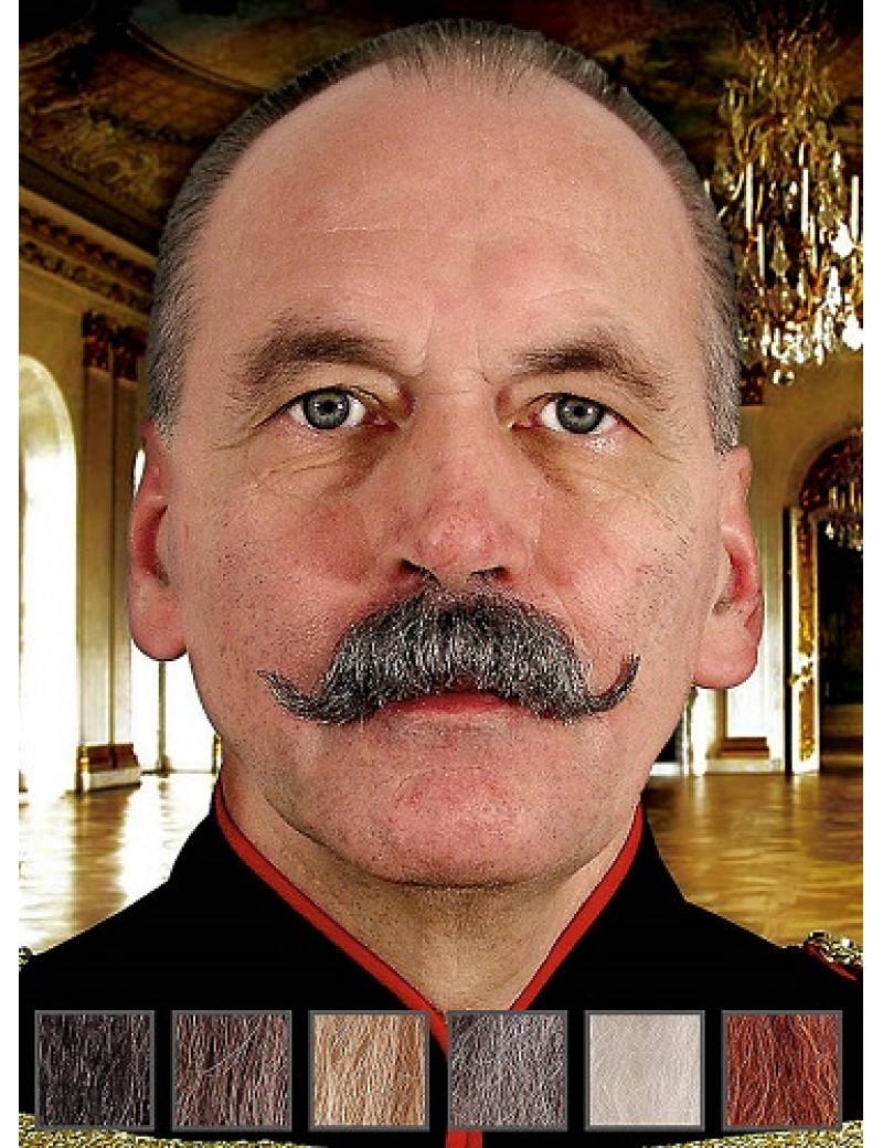 Emperors Professional Real Hair Moustache
