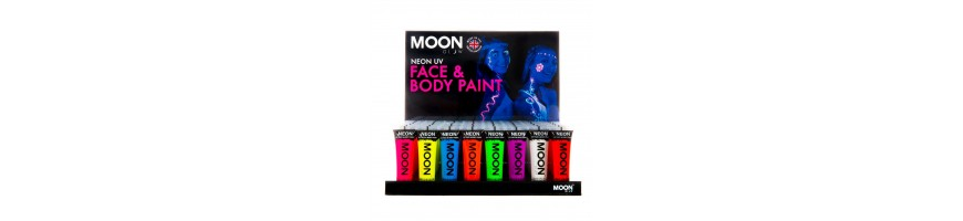 Moon Glow Neon UV Face and Body Paint