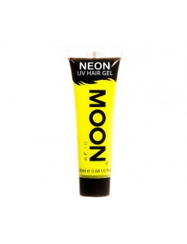 Moon Glow Neon UV hair spike gel yellow M65