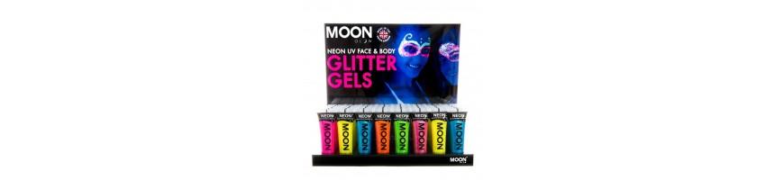 Moon Glow Glitter Gels