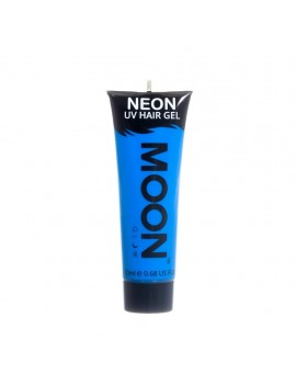 Moon Glow Neon UV hair spike gel blue M7469
