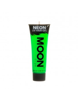 Moon Glow Neon UV hair spike gel green M65