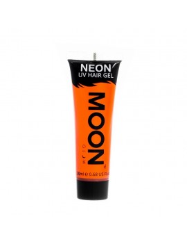 Moon Glow Neon UV hair spike gel orange M65