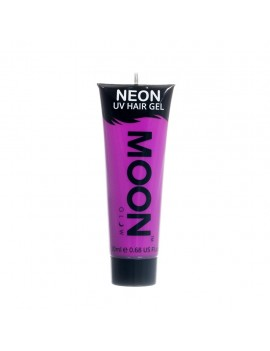 Moon Glow Neon UV hair spike gel purple M65