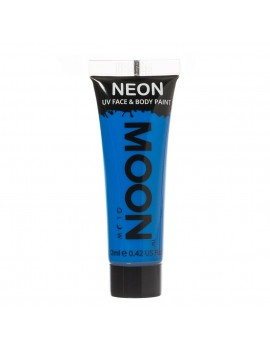 Moon Glow neon UV face and body intense paint blue M5