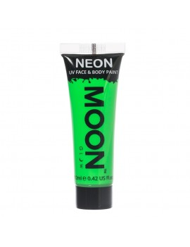 Moon Glow neon UV face and body intense paint green M5