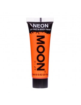 Moon Glow neon UV face and body intense paint orange M5