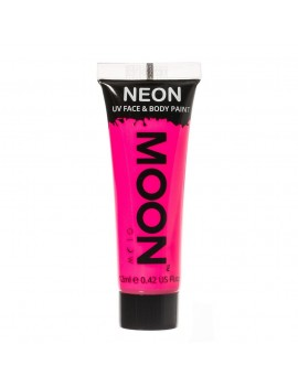 Moon Glow neon UV face and body intense paint pink M5