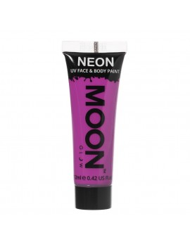 Moon Glow neon UV face and body intense paint purple M5