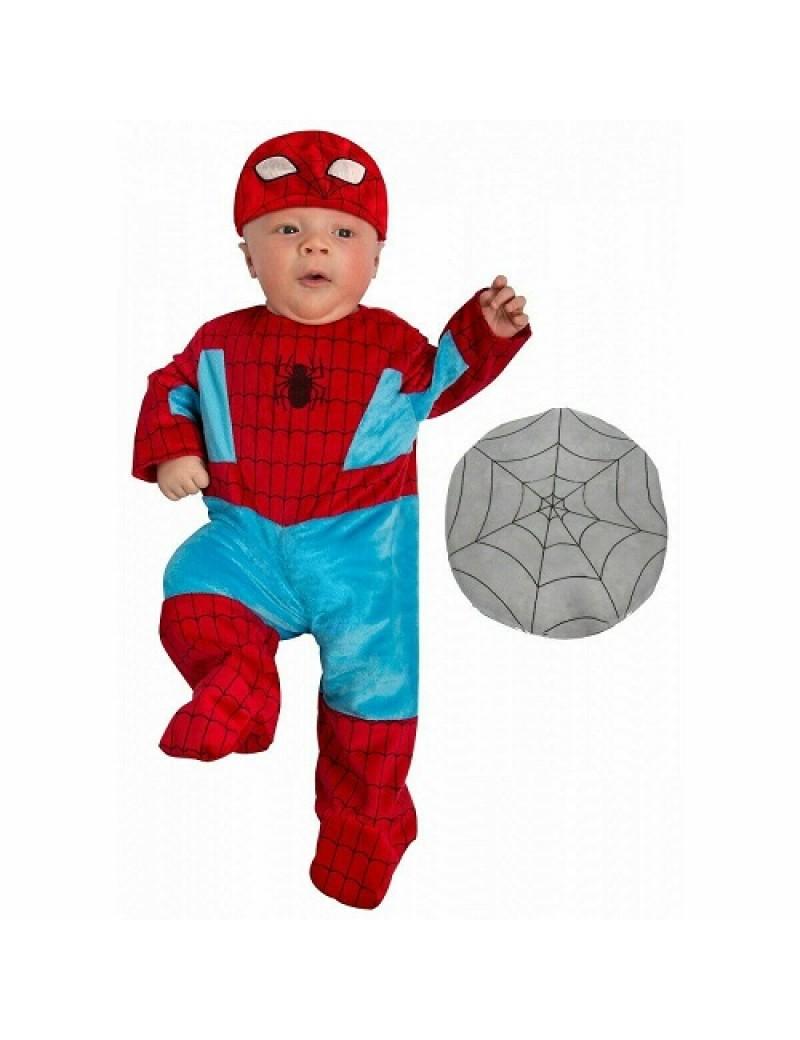 Spiderman Newborn Baby Costume