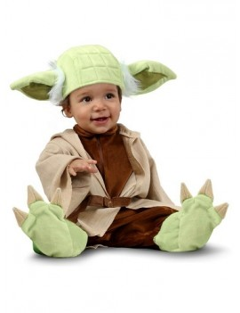 Star Wars Yoda Newborn Baby Costume