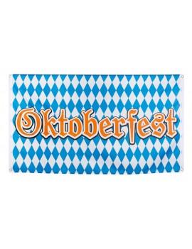 Oktoberfest Bavarian Flag